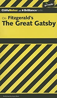 On Fitzgerald's the Great Gatsby (Cliffs Notes) (1469227169) | Amazon Products