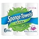 SpongeTowels Ultra Paper Towels, Choose-a-Size Regular...