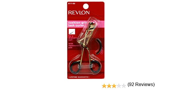 revlon eyelash curler review. amazon.com : revlon cushion grip lash curler(colors may very) eyelash curlers beauty curler review