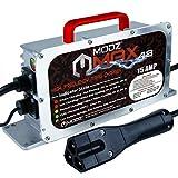 MODZ Max48 15 AMP EZGO RXV & TXT 48 Battery Charger for 48 Volt Golf Carts