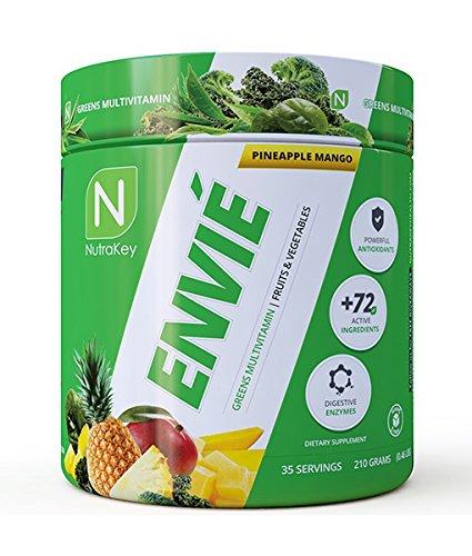 NutraKey Envie, Pineapple Mango, 210 Gram