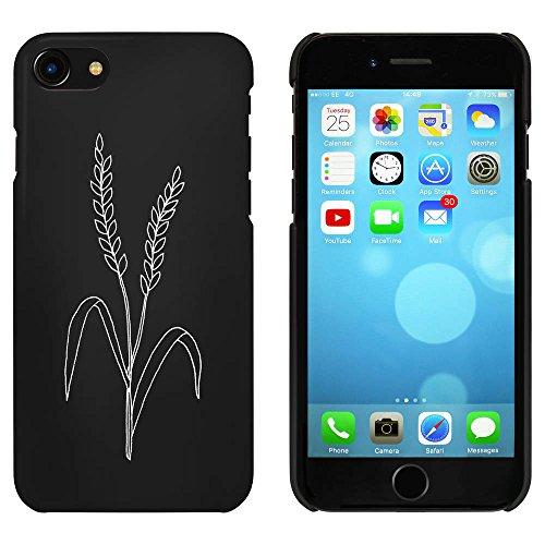 Noir 'Herbe Sauvage' étui / housse pour iPhone 7 (MC00056043)