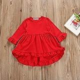 3PC Toddler Baby Girls Cute Floral Shirt Dress