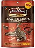 Annie Chun's Seaweed Crisps, Gochujang, 1.27 Ounce (Pack of 10)