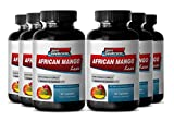 Increase energy levels - AFRICAN MANGO EXTRACT 1000 Mg - Irvingia gabonensis weight reduction fat burner - 6 Bottles 360 capsules