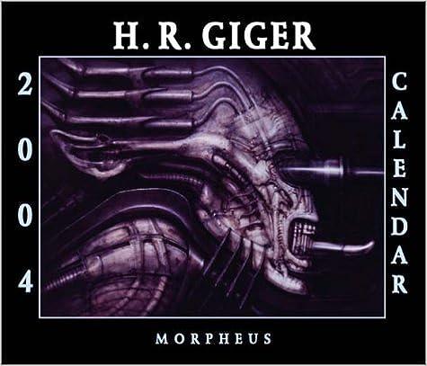 2004 H R Giger Calendar