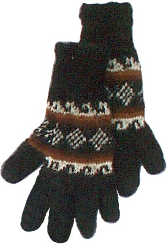 (Alpaca Gloves - Black)