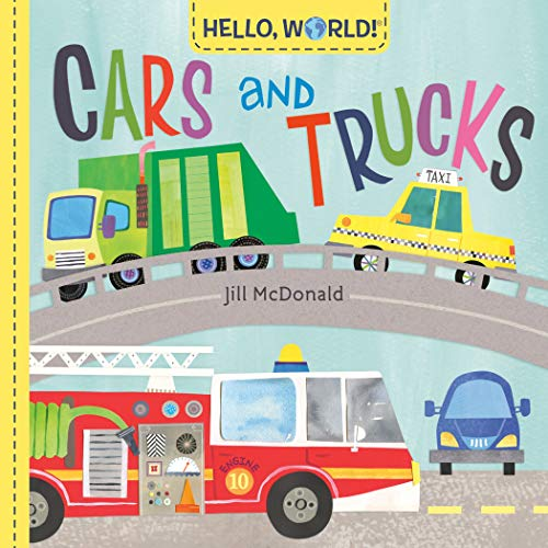 Book Cover: Hello, World! Cars and Trucks