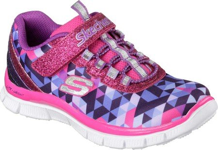 Skechers Kids' Preschool Skech Appeal Geo Gems Running Shoes