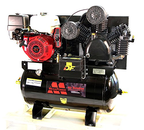 NEW! 13 HP Honda GX390 Truck Mount Air Compressor 30 Gallon w Battery Tray