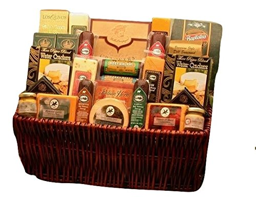 Ultimate Gourmet Meat and Cheese Gift Basket (Meat Gifts For Christmas)