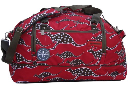 417e16c455db4 Chiemsee Sportbag Medium Sporttasche Farbe  rot-Känguruh  Amazon.de  Sport    Freizeit