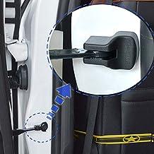 Auto Door Stopper Limiting Buckle Cover For Toyota Camry XV70 2017-2019/For Toyota Corolla Prius RAV4 Camry Reiz Venza Highlander Prado Sequoia ABS Plastic 4PCS/SET