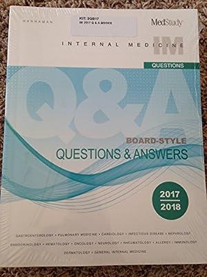 Medstudy 17th edition 2017-2018 Internal Medicine Board