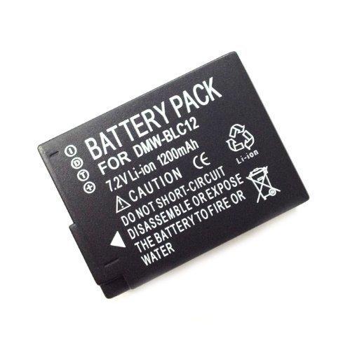 7 opinioni per DMW-BLC12 BLC12 1200mAh Batteria per Panasonic DMC-GH2 DMC-FZ200 DMC-G5 DMC-G5