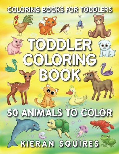 50 ANIMALS IN ONE BOOK | Includes 50 Unique Images Entertain your little ones with this cheerful coloring book, while they learn about the animal world around them. With 50 unique images this book will introduce your kids to animals from arou...