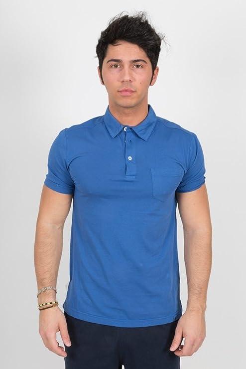 Champion Polo Hombre Nantucket Bolsillo Azul S: Amazon.es ...