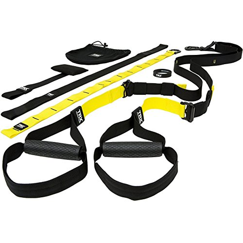 TRX PRO Suspension Trainer System: Highest Quality Design & Durability| Includes Three...