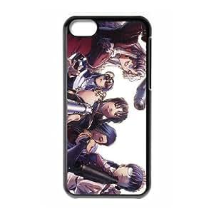 black lagoon manga iPhone 5c Cell Phone Case Black yyfD-387966