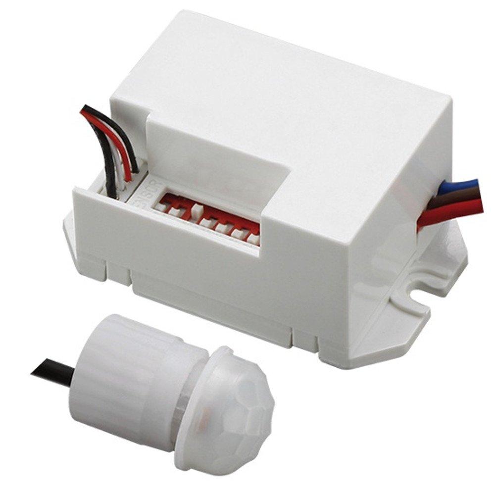 Maclean Energy mce detector de movimiento w ° sensor exterior pir