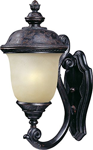 Maxim Lighting 56523MOOB Carriage House LED E26 Outdoor Light, Oriental Bronze ()