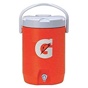Gatorade 73021 Beverage Cooler, 3 Gallon, Orange