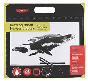 Derwent 2300541 - Tablero de dibujo, negro y blanco