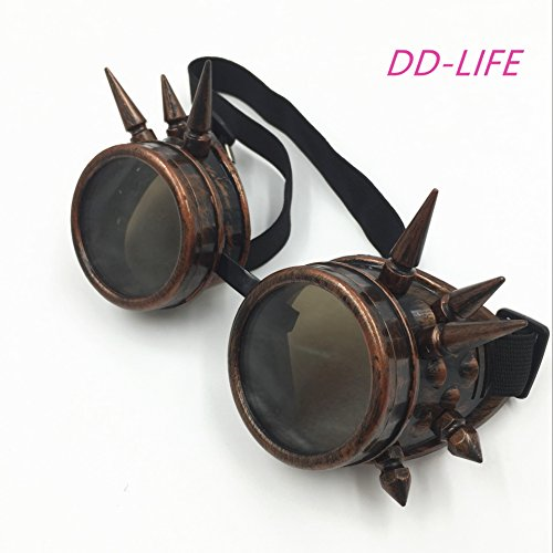 New Sell Vintage Steampunk Goggles Glasses - Glasses Goggles Steampunk