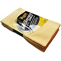 Meguiar's Supreme Shine Microfiber Towels – Reusable...
