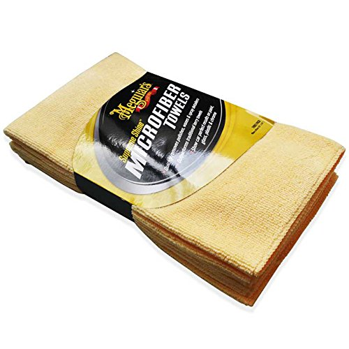 Meguiar's Supreme Shine Microfiber Cloths (Pack of 3) (Meguiars Spray Car Wax compare prices)