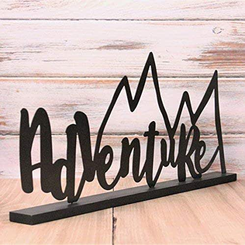 Amazon.com: Adventure Metal Sign - Adventure Nursery Theme