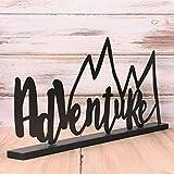Adventure Metal Sign – Adventure Nursery Theme – Adventure Sign, Lets Be Adventures, Metal Decor, The Mountains Are Calling, Be Adventurous Review