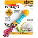 Dog Toy Pet Stages Mini Barbell Chew
