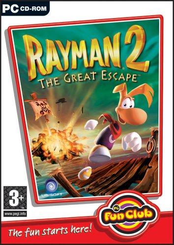 Rayman 2: The Great Escape pc dvd-ის სურათის შედეგი