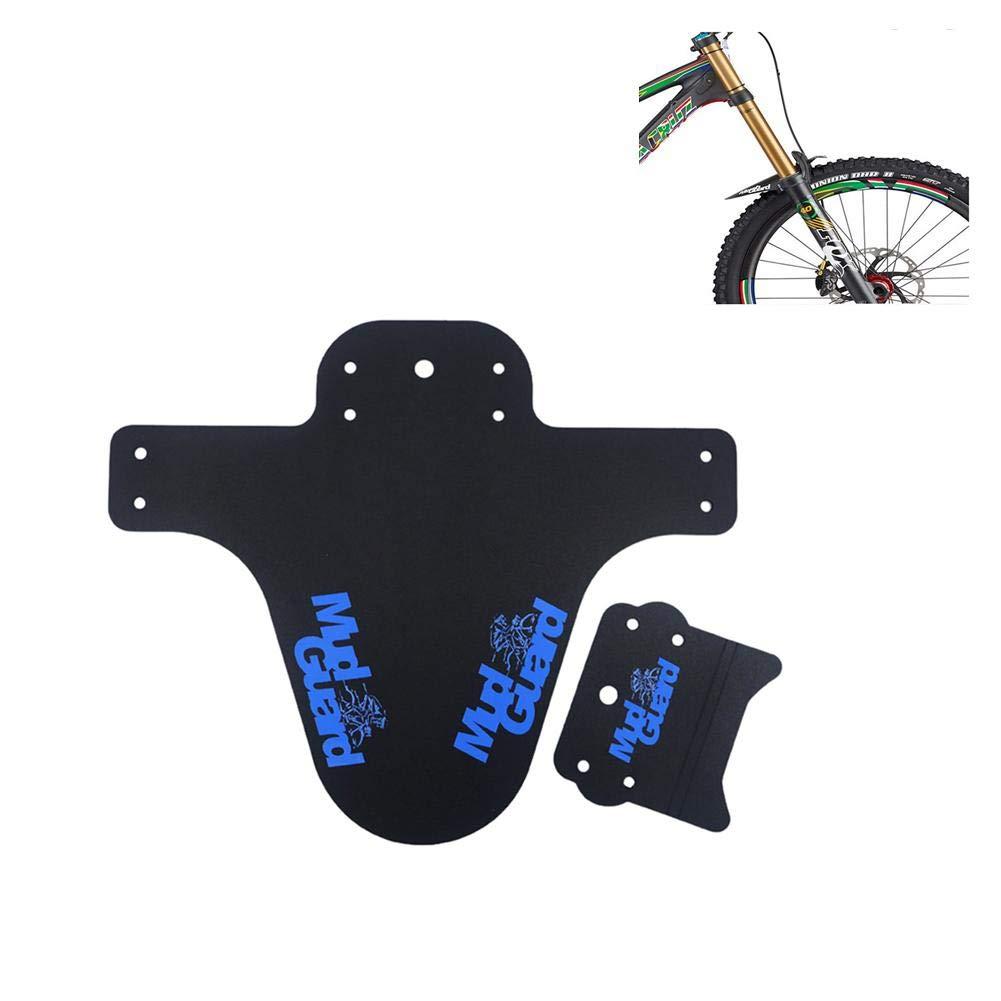 Negro Black Eruditter Mountain Bike Colorful Fender Road Bike Fixed Gear Bicycle Water Fender