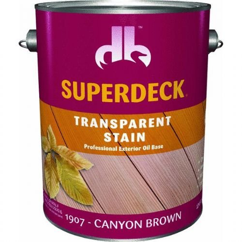 (Superdeck Transparent Exterior Stain)