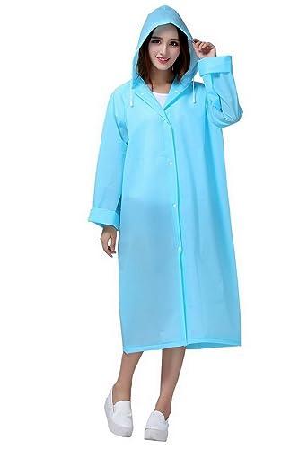 Evedaily - Abrigo impermeable - para mujer