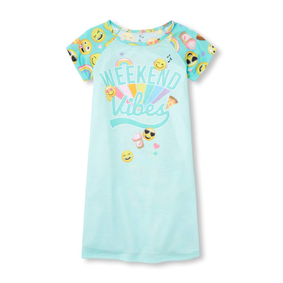 The Childrens Place Big Girls Novelty Graphic Night Gown Pajama