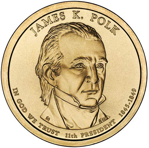 2009 S Proof James K. Polk Presidential Dollar Choice Uncirculated US Mint ()