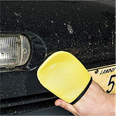 Griot's Garage 11842 Four-Finger Mesh Mitten (Set of 2): Automotive