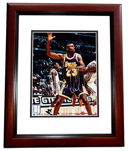 1a566630e19 Autographed Cedric Ceballos Picture - 8x10 MAHOGANY CUSTOM FRAME - PSA DNA  Certified - Autographed