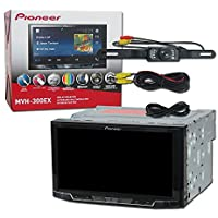 2017 Pioneer Car audio Double Din 2DIN 7 Touchscreen Digital Media stereo built-in Bluetooth & DCO Waterproof Backup Camera with Nightvision