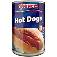 Princes 8 Hot Dogs in Brine 400 g