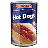 Princes 8 Hot Dogs in Brine 400g