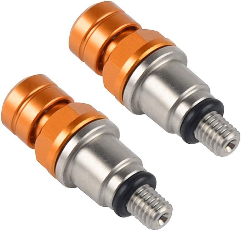 M4X0.7 v/álvula de purgador de aire para horquilla de suspensi/ón de carreras para KTM 690 Enduro SMC Duke 950 990 1190 Adventure Supermoto