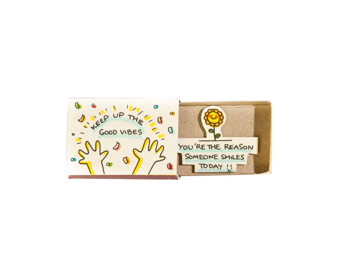 divertente regalo di 3XU matchbox Anlass Biglietti di auguri scatole di fiammiferi artigianali piccola sorpresa nella scatola di fiammiferi Abschluss
