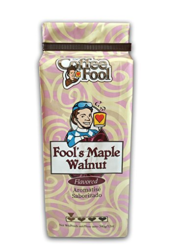 The Coffee Fool Fool's Whole Bean, Maple Walnut, 12 ()