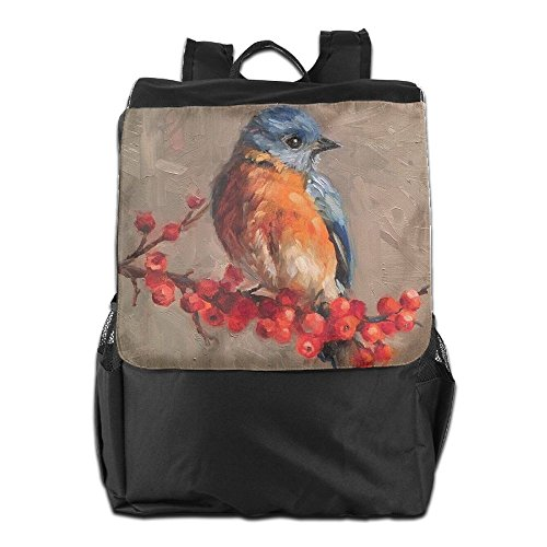 Bird Outdoors Painting Strap And Women Storage Men Oil Shoulder Travel For Dayback Adjustable Personalized School Backpack HSVCUY Camping 5f8UqYwx