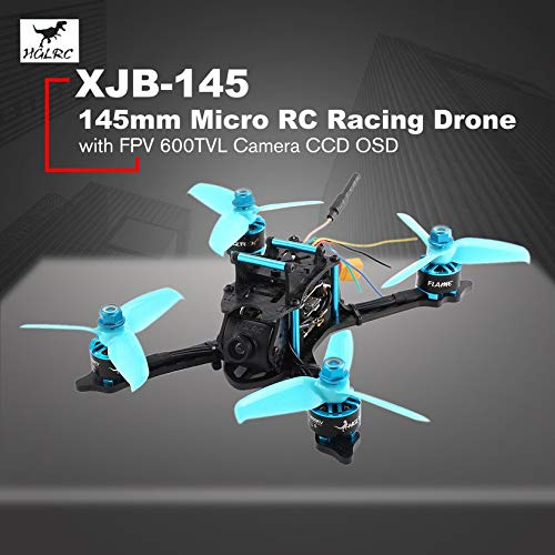 Wikiwand HGLRC XJB-145 145mm Micro RC Racing Drone 5.8G FPV 600TVL Camera CCD OSD PNP by Wikiwand (Image #2)