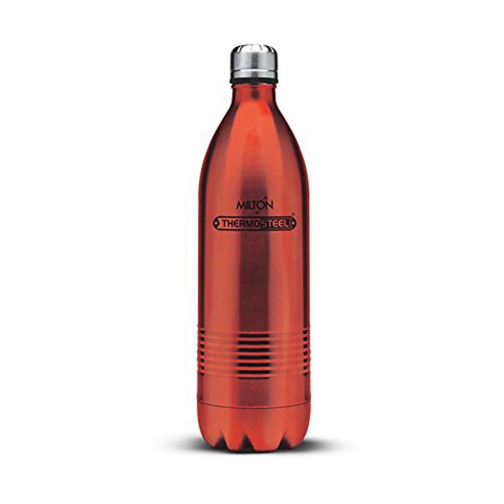 Milton Thermosteel Duo Deluxe 1000 Bottle, Red